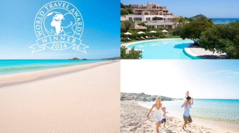 IL MIGLIOR RESORT MEDITERRANEO 2014Chia Laguna Hotel premiato al World Travel Awards
